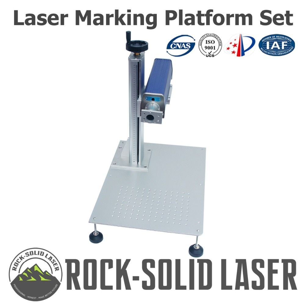 Desktop Fiber Laser Marking Machine Platform Set Laser Marker Ilifting Stand Light Path Platform Part 10w 20w Laser Marking Stand Light Laser Engraving Machine