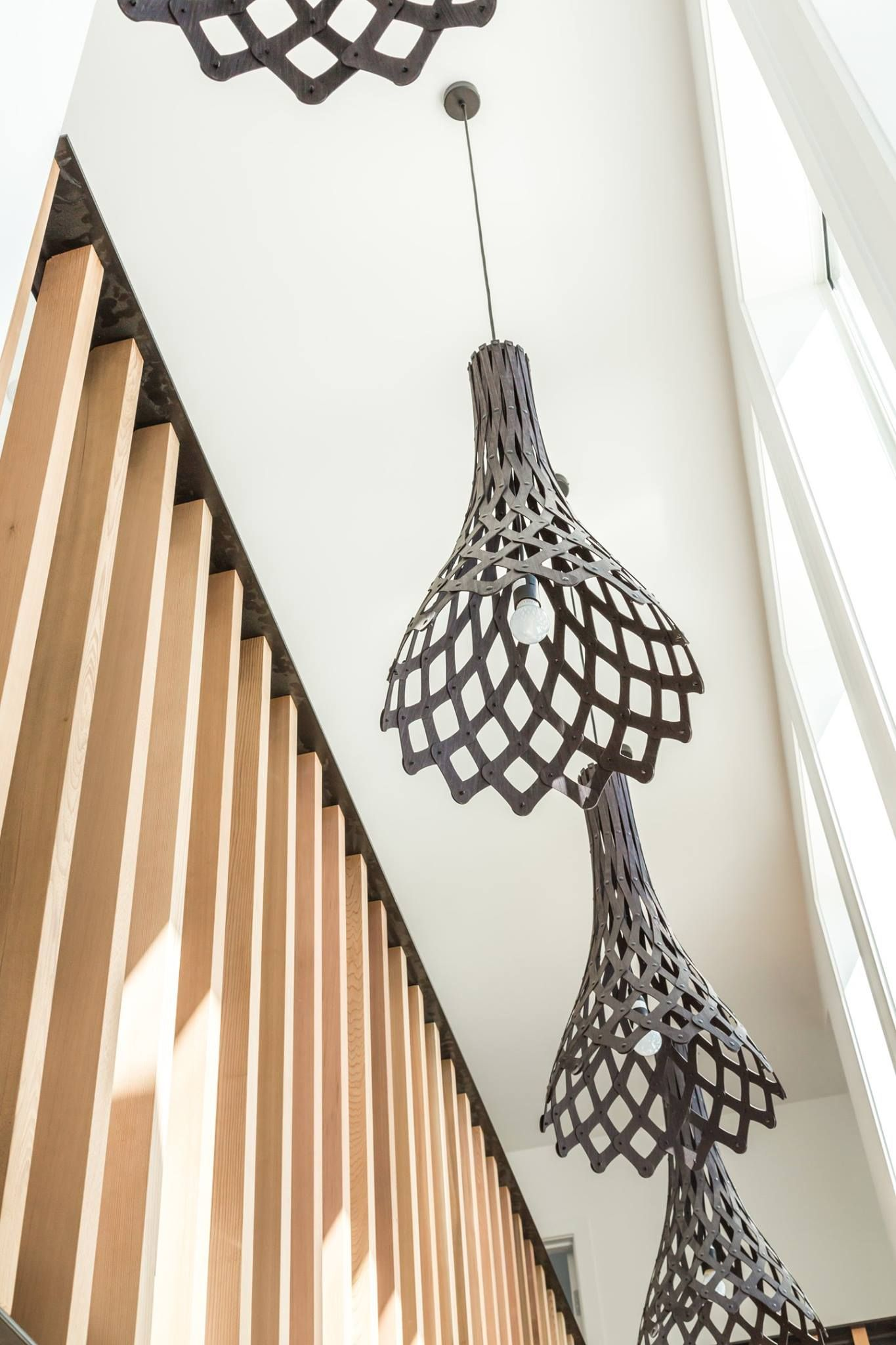 Elegant A Beautiful Installation Of Several David Trubridge HALF NIKAUs In A  Devonport, NZ Home. Via Backhouse Interiors Limited