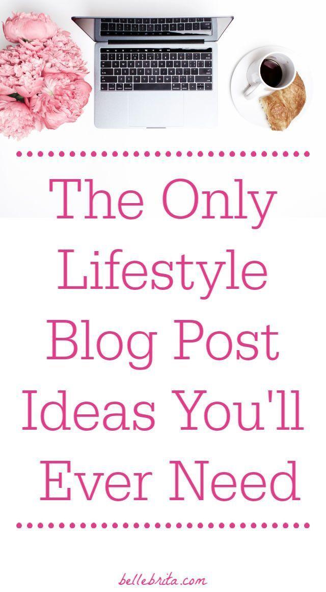 Photo of Die einzigen Lifestyle-Blogpost-Ideen, die Sie jemals brauchen werden Belle Brita
