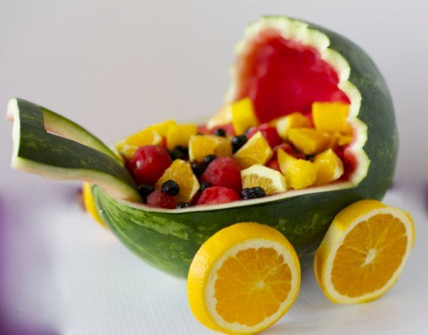 Arreglo De Frutas Para Baby Showers Qué Rico Pinterest Baby