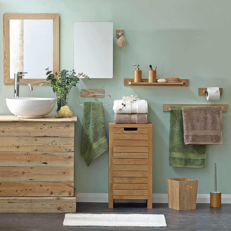 Bamboo Toilet Brush and Holder Dunelm