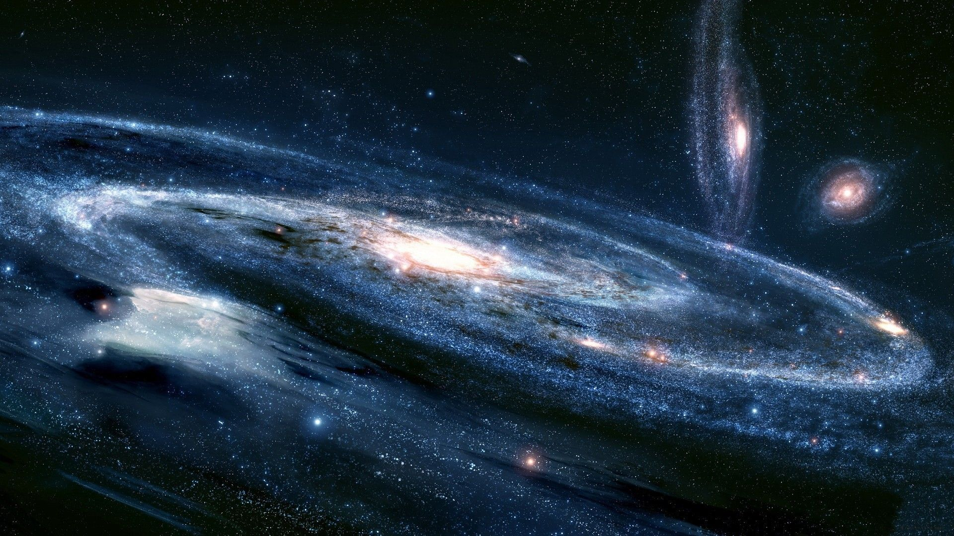 Outer Space Galaxy Wallpaper Widescreen 2 HD Wallpapers