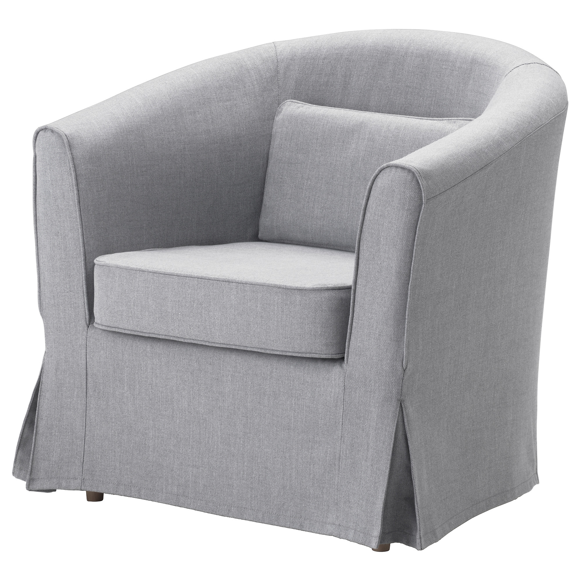 Ikea Tullsta Armchair Cover Nordvalla Medium Gray