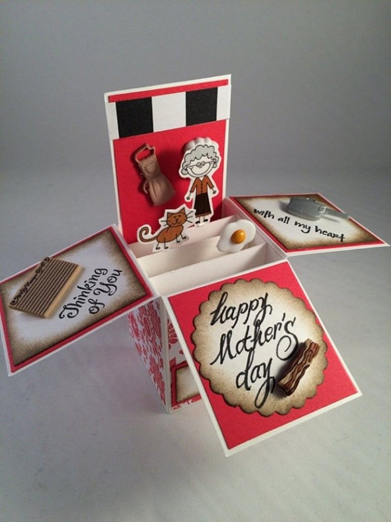 45 Most Breathtaking 3d Handmade Box Cards With Images