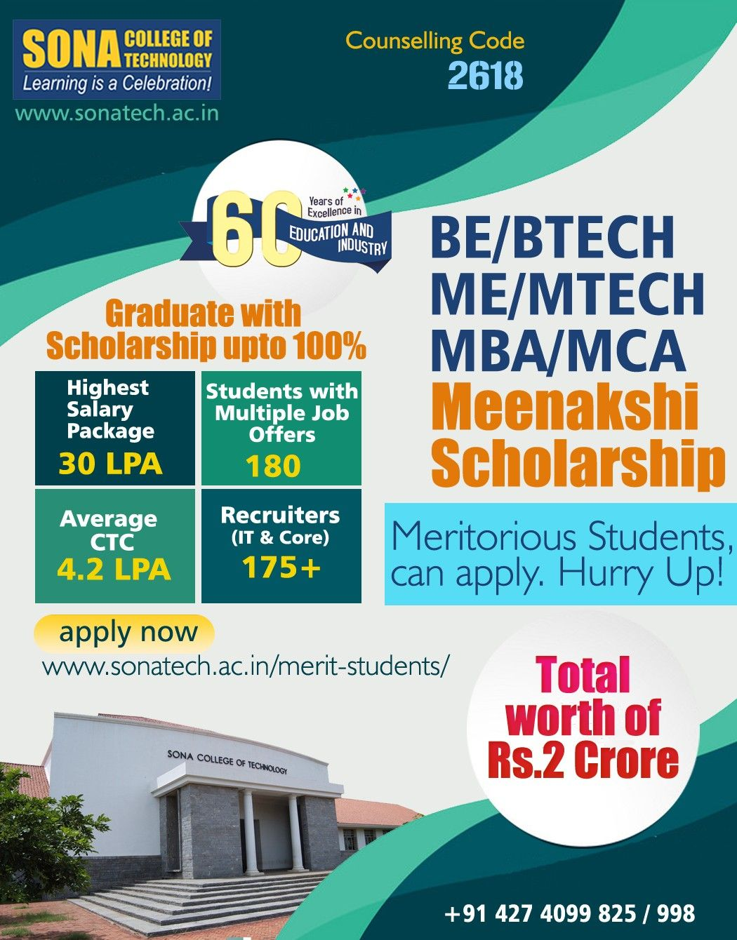 Merit Scholarship Upto 100 Scholarships Top Engineering Colleges Engineering Courses