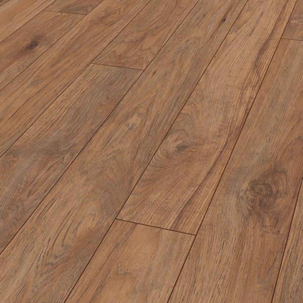 Mardi Gras Hickory 12mm Laminate Flooring SKU 55545956