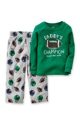 7afaa7a4b867 Carter s® 2-Piece Football Pajama Set Boys 10-12