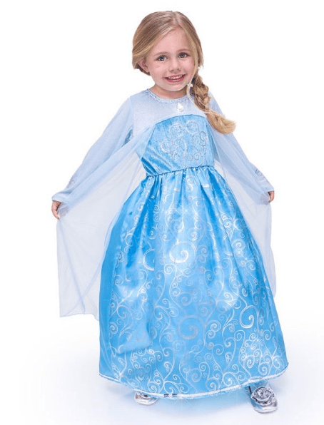 Vestito principessa Costume Da Regina 23fdea8a06f