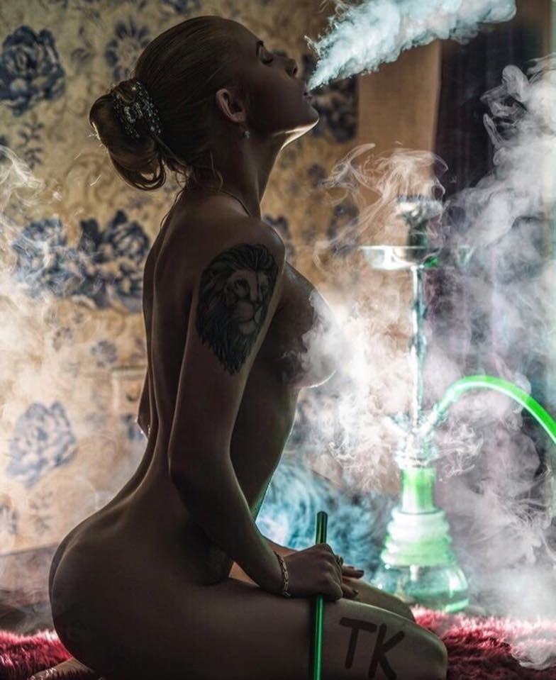 420 babe smoke tricks amp smoke rings 5