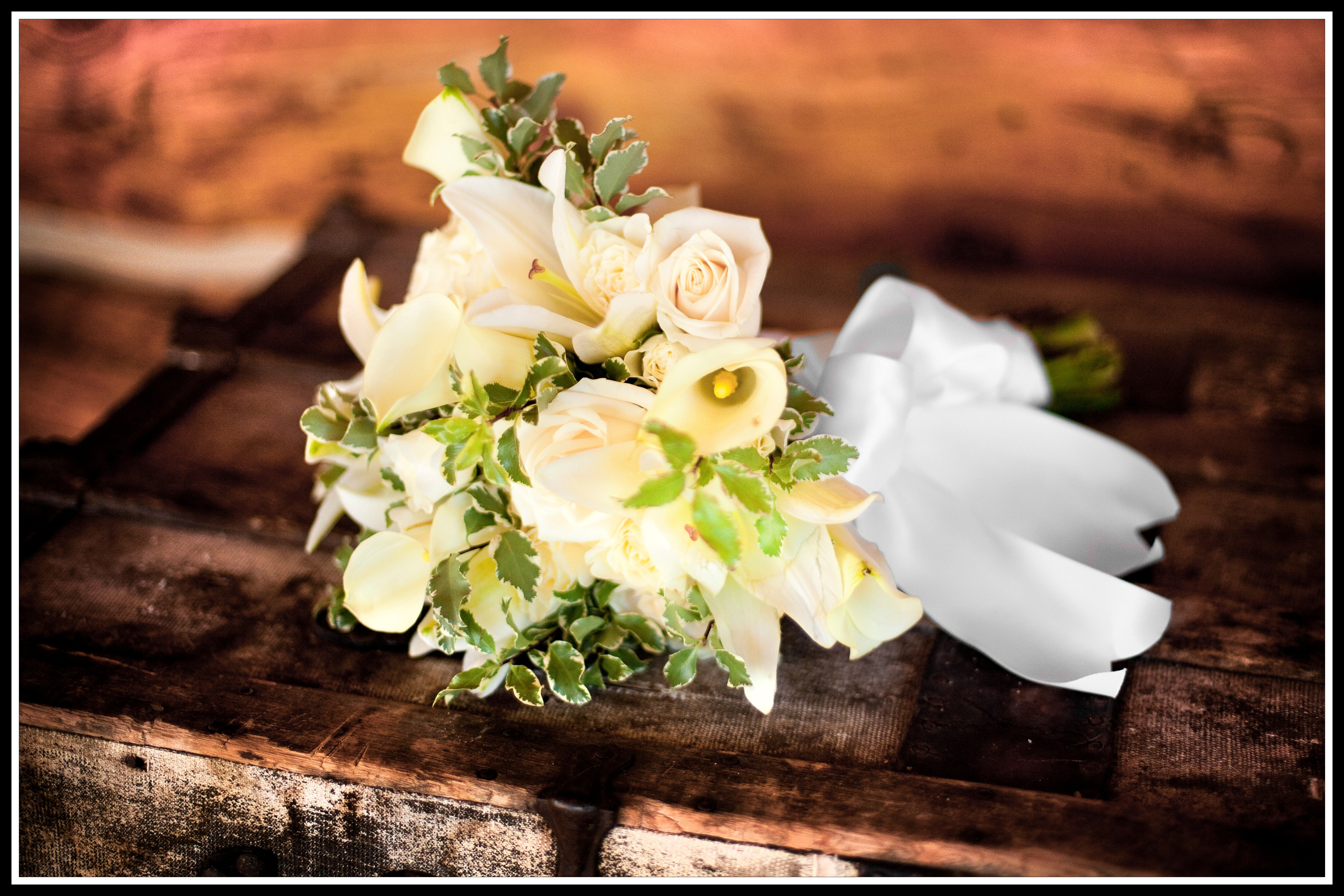 A Bridal Bouquet at The Ranch...