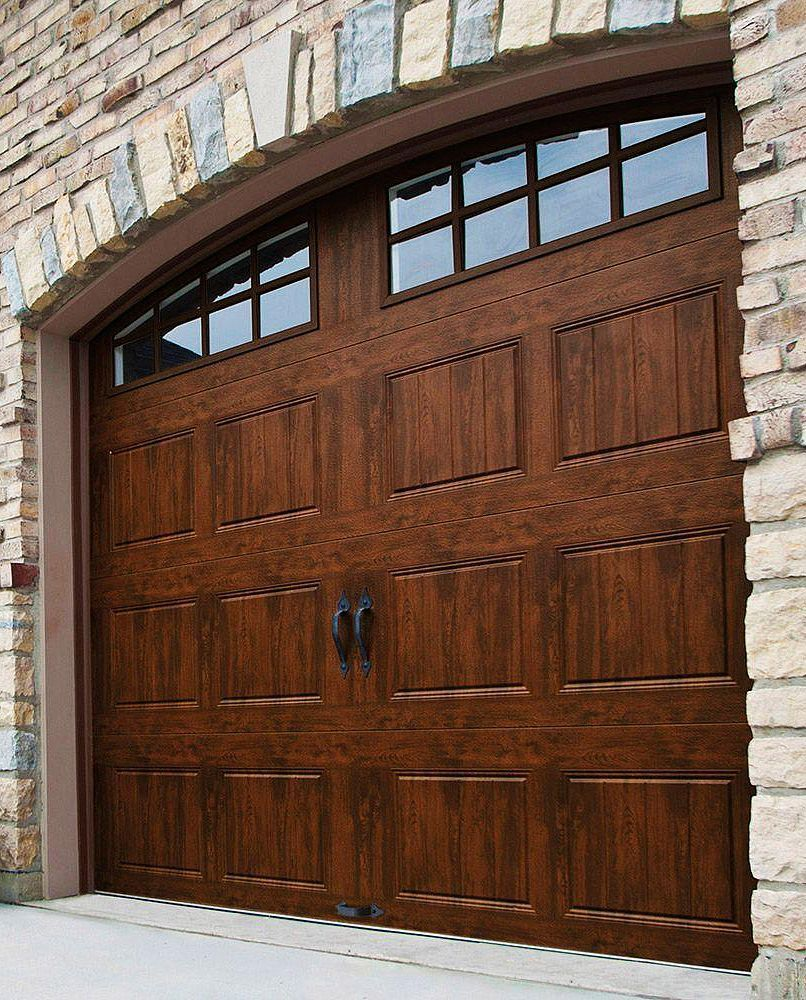 Pick From Several Garage Edit Trim Styles Our Economy Kit Offers A 4 Broad Casing Upon Three Sides Garage Door Design Garage Door Styles Brick Exterior House