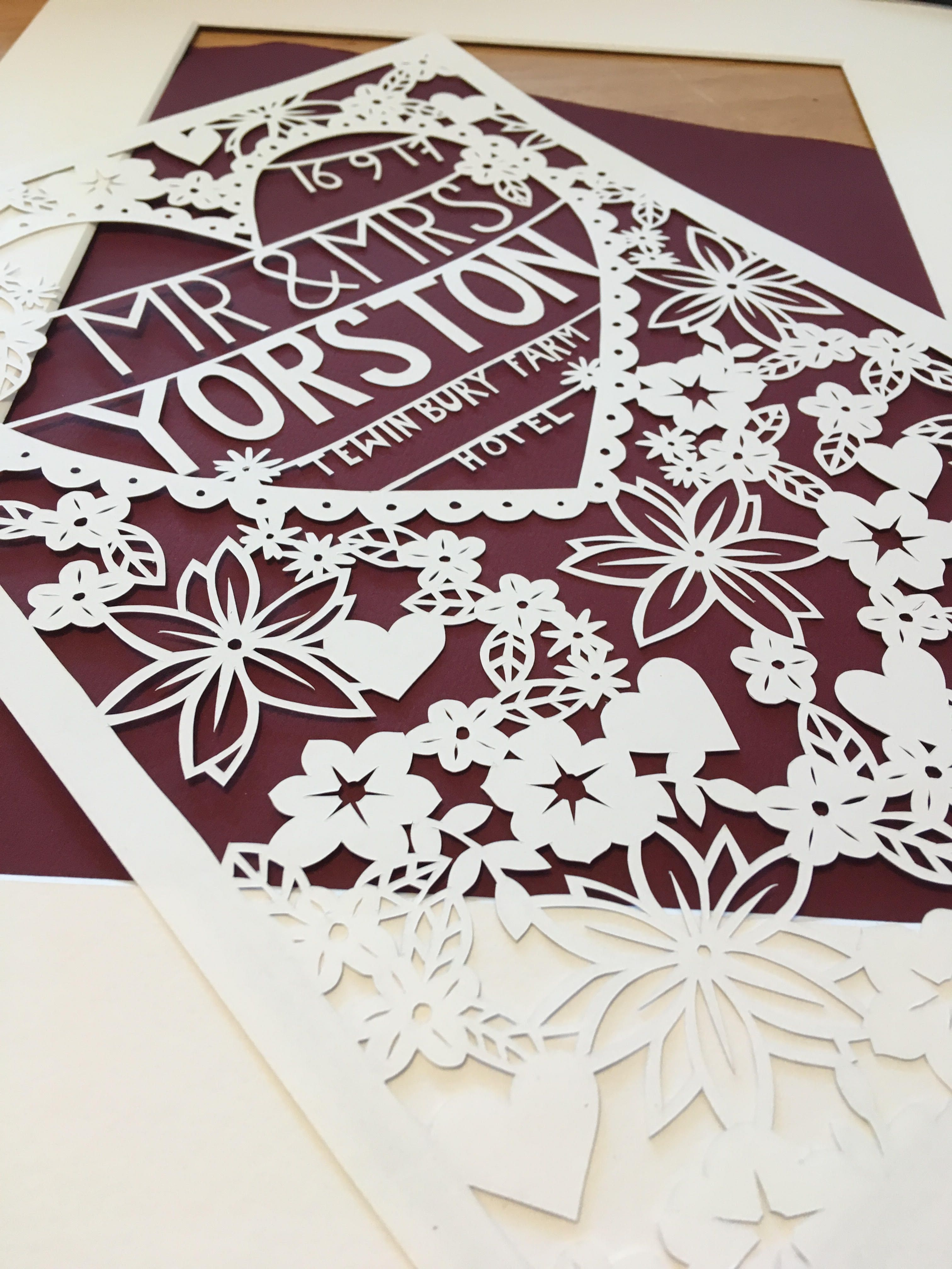 First Paper Wedding Anniversary Gift Ideas from UK based