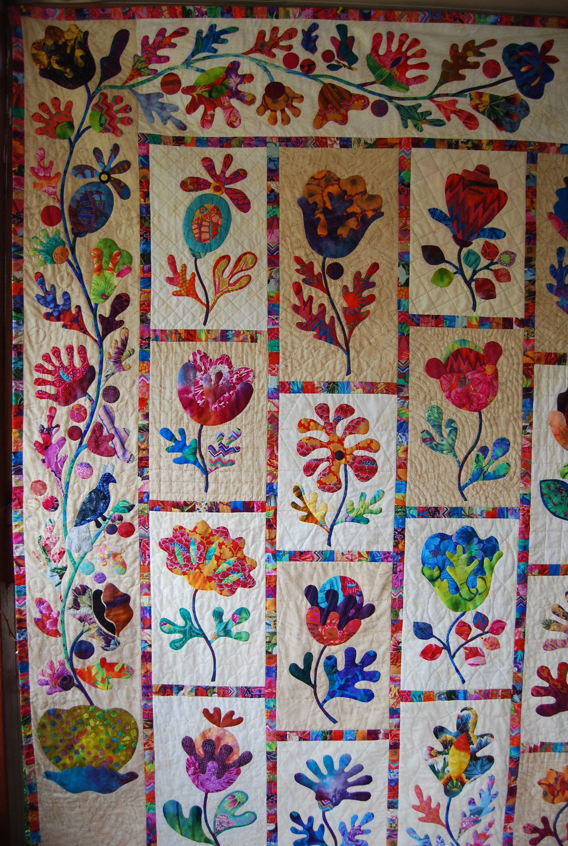 Flower Applique Quilt Patterns Custom Ideas