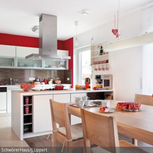 Moderner Landhausstil - küche landhaus weiß