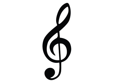 music notes silhouette vector download silhouette graphics music rh pinterest com music note vector download music note vector free download