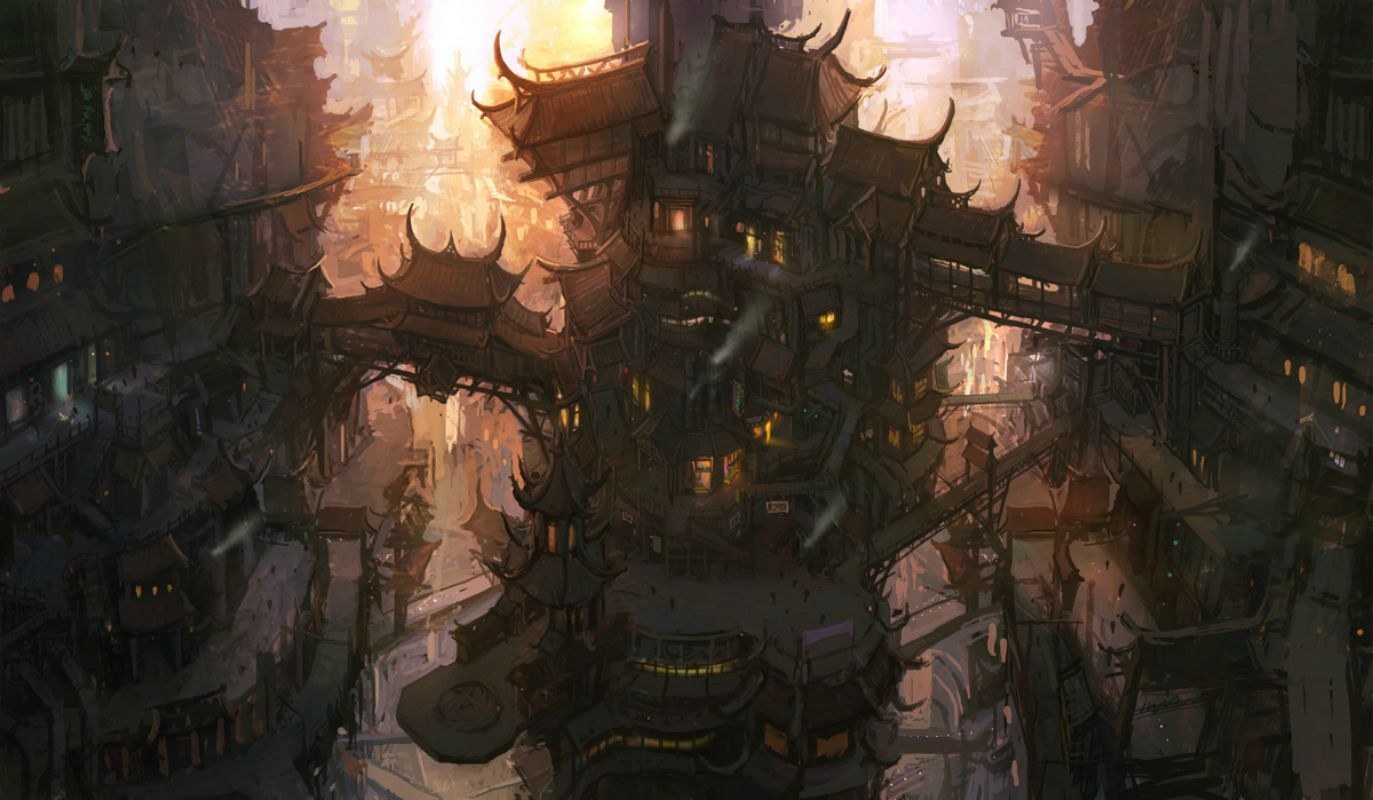 Steampunk Wallpapers Steampunk wallpaper Steampunk city and Sci fi