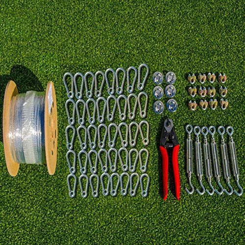 Batting Cage Netting Wire Tension Kit   Everything Youu0027ll.