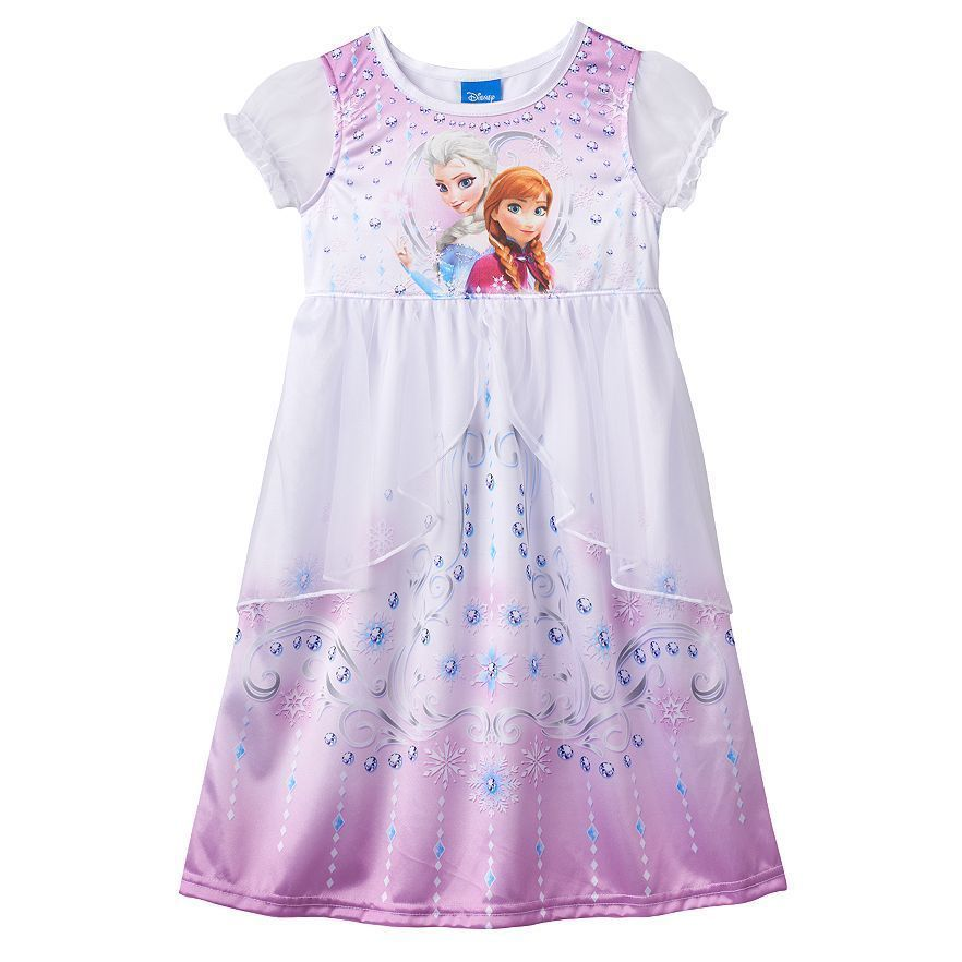 NEW Disney Frozen Elsa Pink Purple Sleeveless Summer Dress Girl/'s Sizes 2T 3T 4T