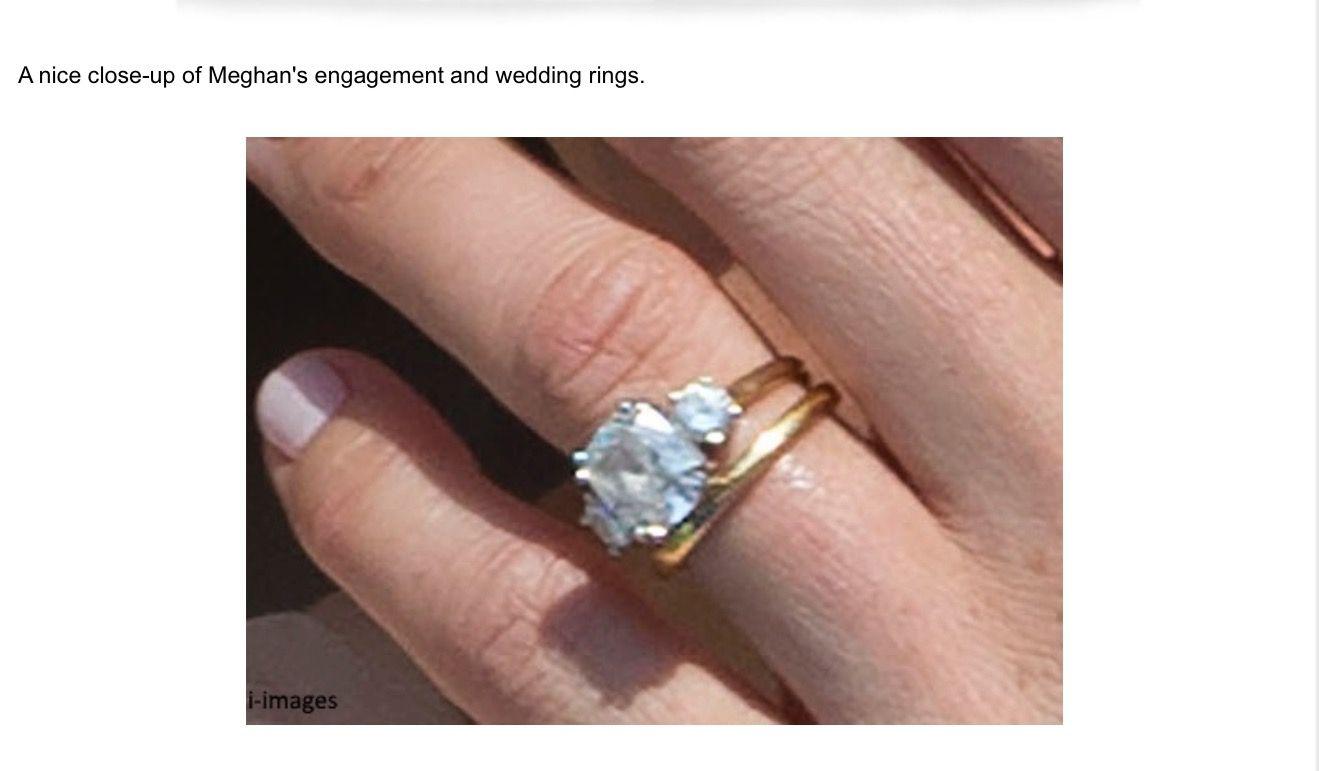 Meghan Markle Wedding Ring.Meghan S Engagement Wedding Rings Wedding Rings Royal