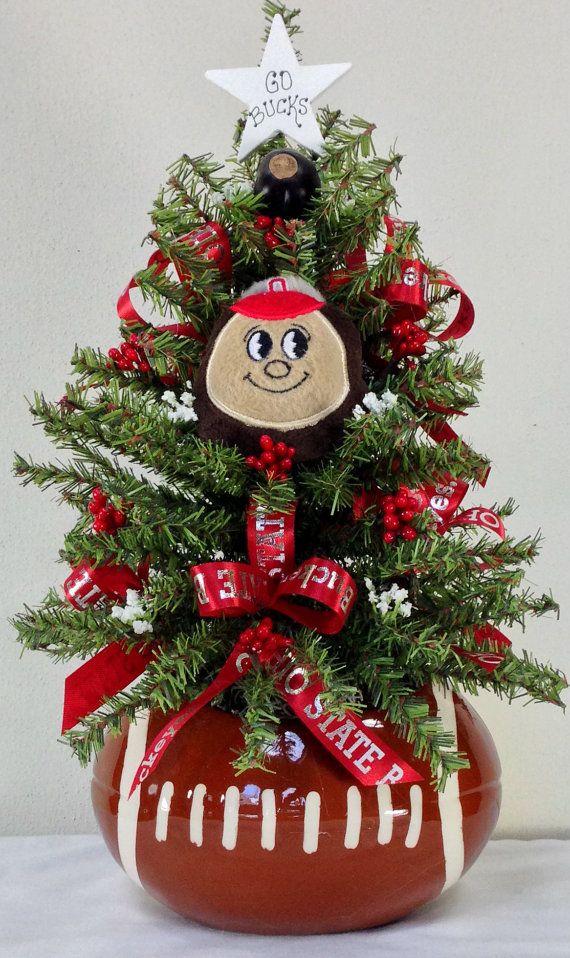 Ohio State, OSU, Brutus Buckeye, Ohio State Christmas, Ohio State ...