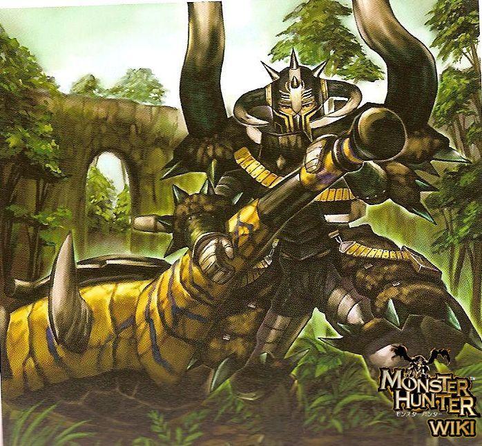 Hunting Horn Monster Hunter Art Monster Hunter World Monster