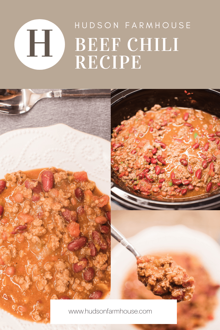 I Hope You Have A Big Spoon At The Ready My Recipe For Farmhouse Beef Chili Is Well The Best With It Healthy Snacks Recipes Chili Recipes Beef Chili Recipe