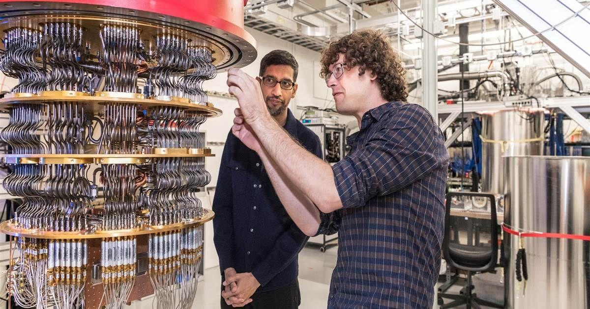 Google claims quantum computing breakthrough Quantum