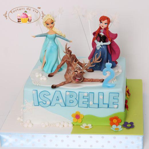 Tort Frozen pentru Isabelle