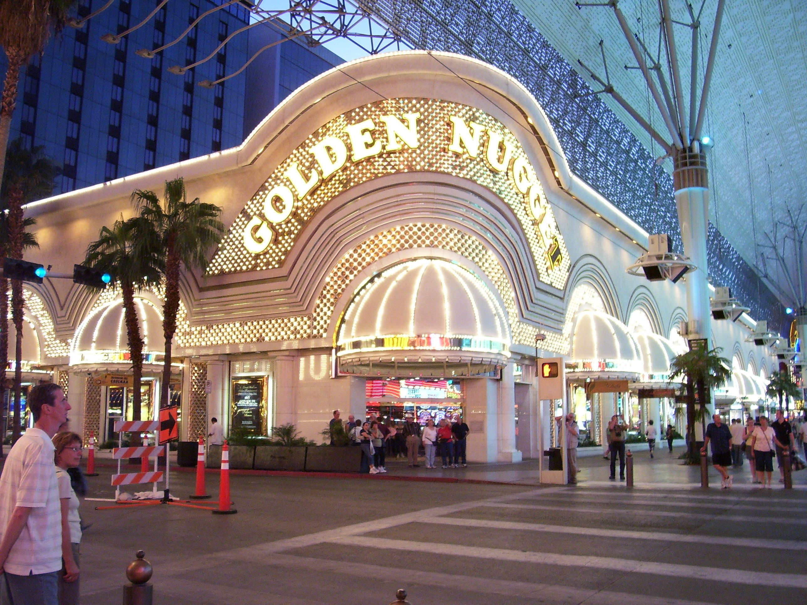 Golden Nugget Hotel And Casino Freemont Street Las Vegas Nevada
