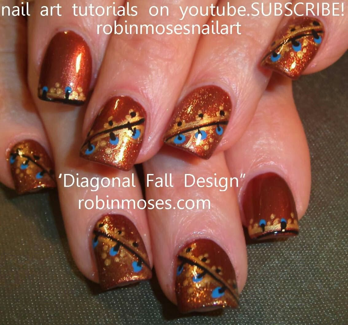 Pin by ZACHARY BOYLES on Fall Nail Art | Pinterest