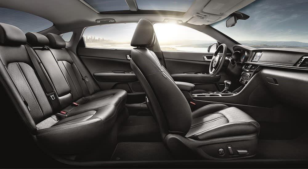 2018 Kia Optima Seating Capability Interior more At