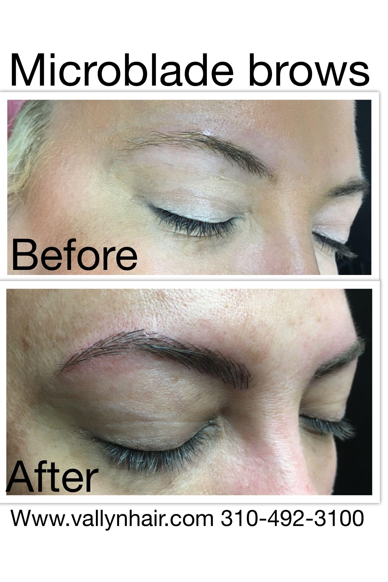 Microblade Eyebrows Eyebrows Permanent Makeup Brows