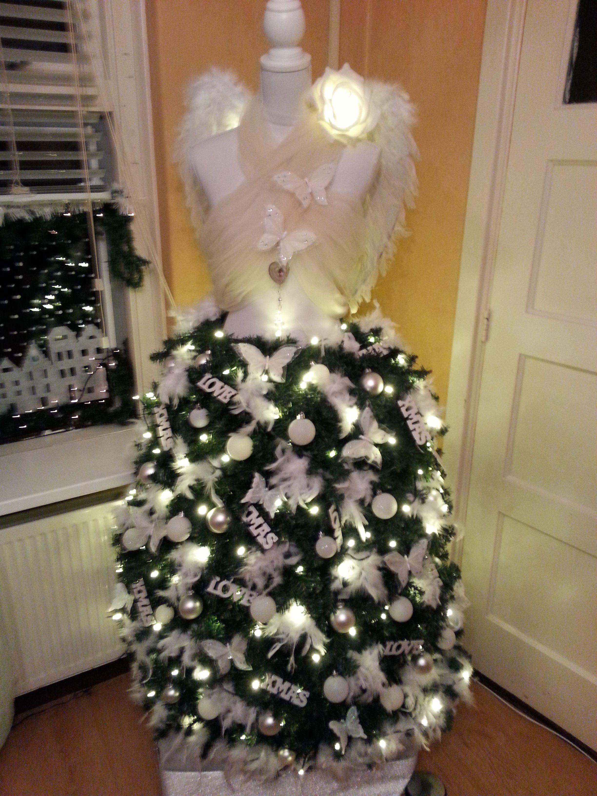 Mijn Kerst Engel Dit Jaar Dress Form Christmas Treechristmas