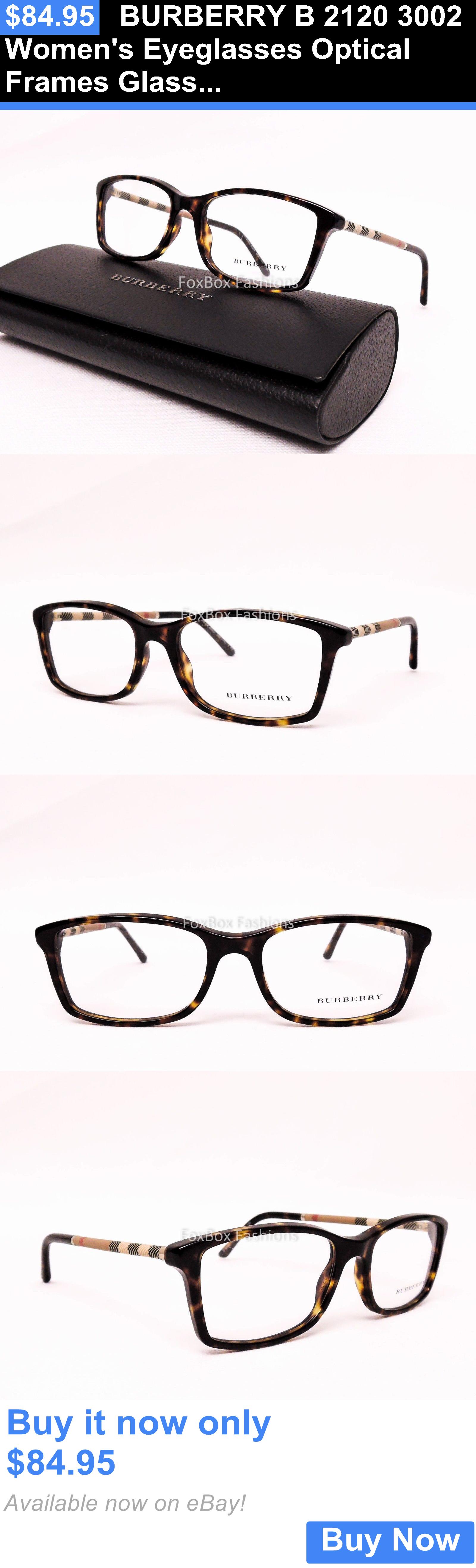 d75c1a4ed515 Eyeglass Frames  Burberry B 2120 3002 Womens Eyeglasses Optical Frames  Glasses Havana Plaid 51Mm BUY IT NOW ONLY   84.95