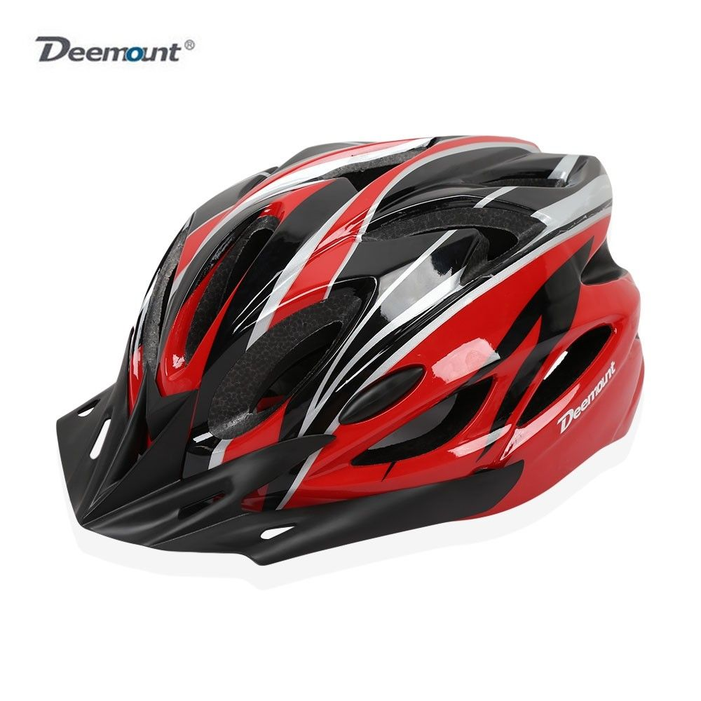 Deemount Cycling Helmet All Round Protection Eps Back Taillight