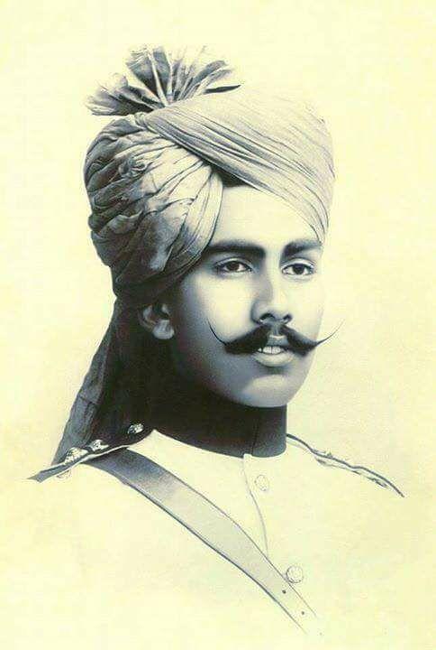 H.H Maharaja Ganga Singh Ji Of Bikaner By Rohit Sonkiya