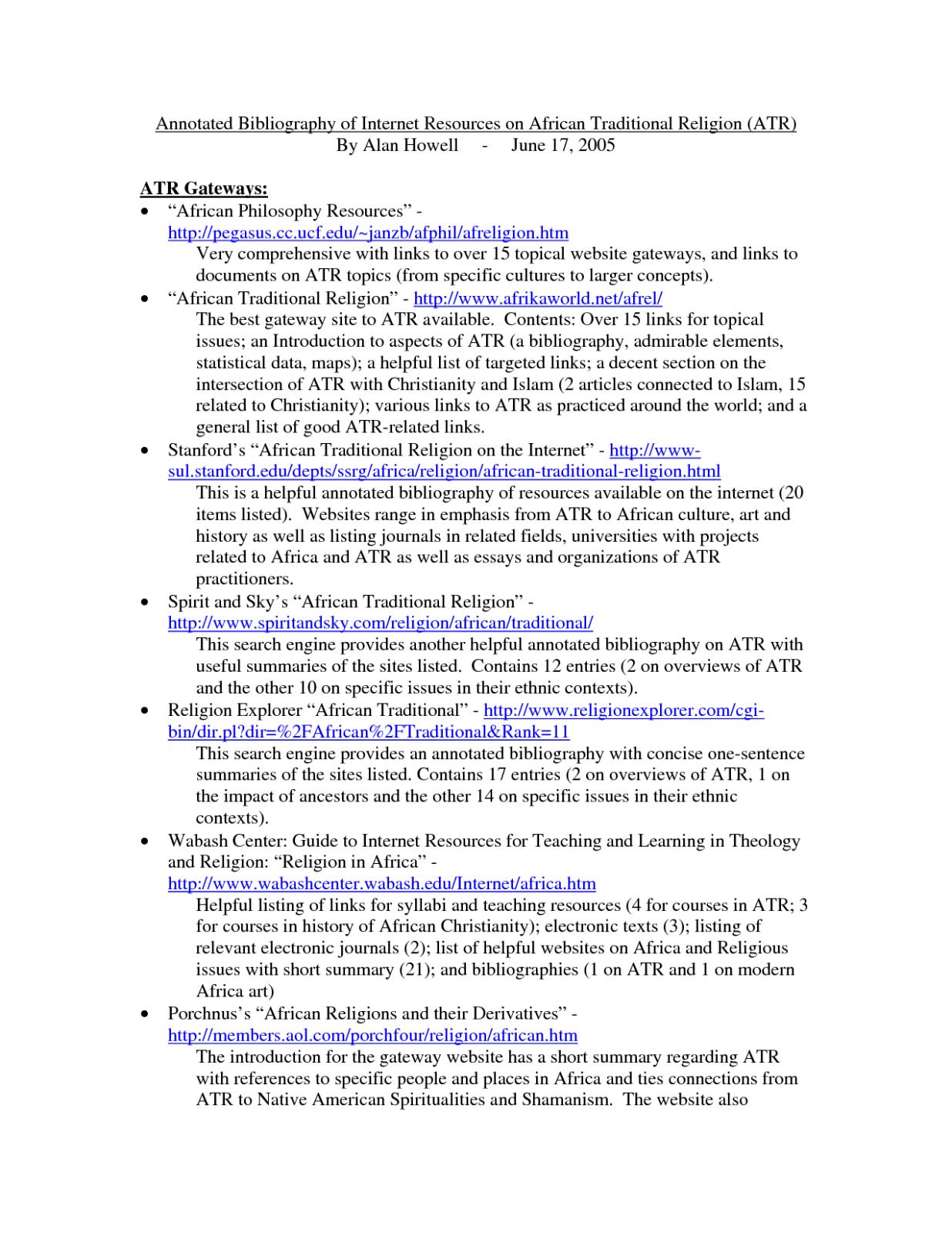 10 Sample Annotated Bibliography Apa Format Annotated Bibliography Annotated Bibliography Apa Writing A Bibliography