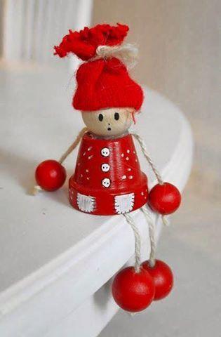 Kantenhocker weihnachten #noel2019bricolage