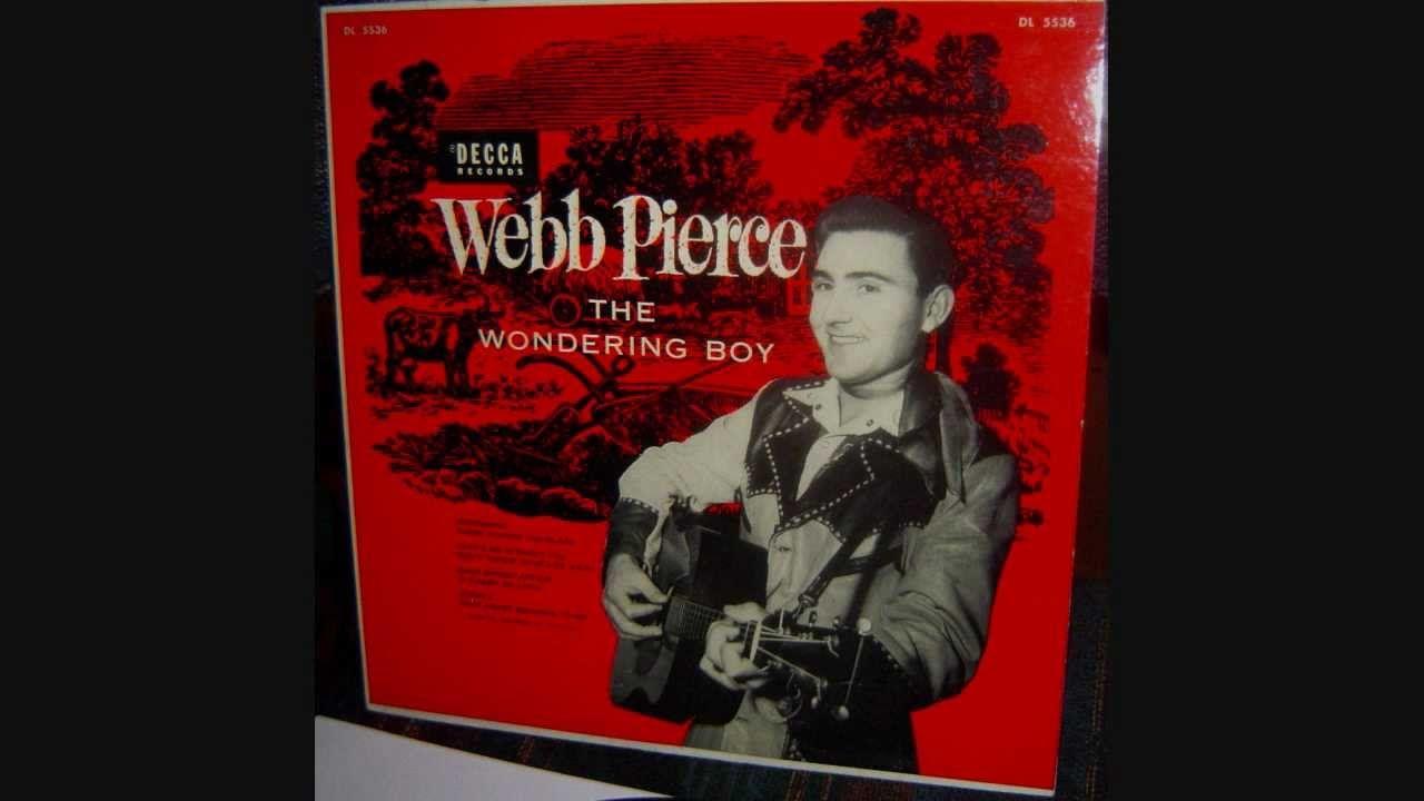 Webb Pierce  ~  Almost Persuaded