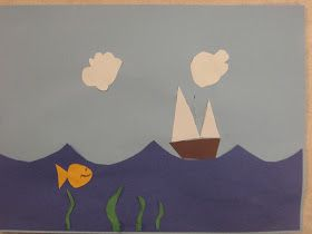Miss Young's Art Room: 2nd Grade Shape Collages