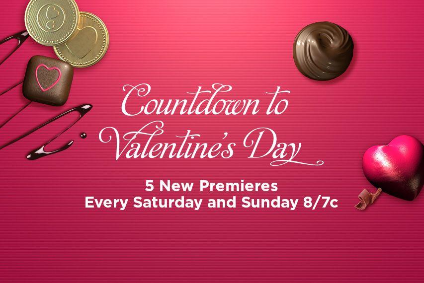 Countdown To Valentine S Day Hallmark Channel Hallmark Channel Family Christmas Movies Hallmark Movies