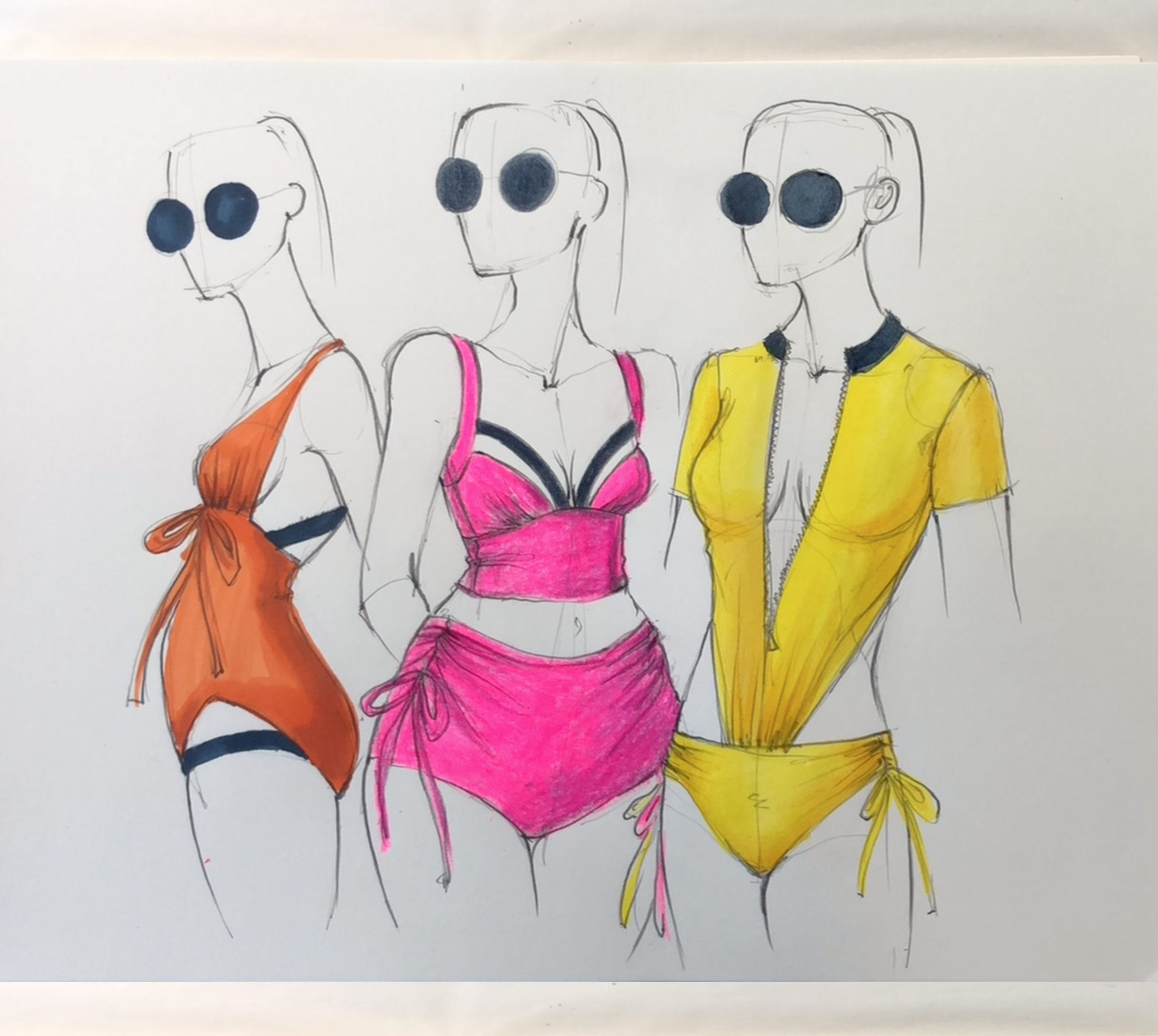 Everything You Wanted To Know About Preparing For Fashion Design School Bonus In This Illustration I Use M Fashion Design School Fashion Design Illustration