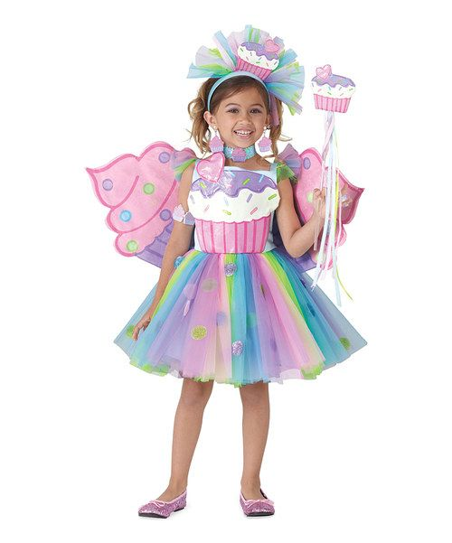 Look at this Cupcake Fairy Dress - Girls on #zulily today!