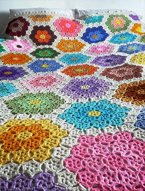 bedspread by thecuriouseye, via Flickr