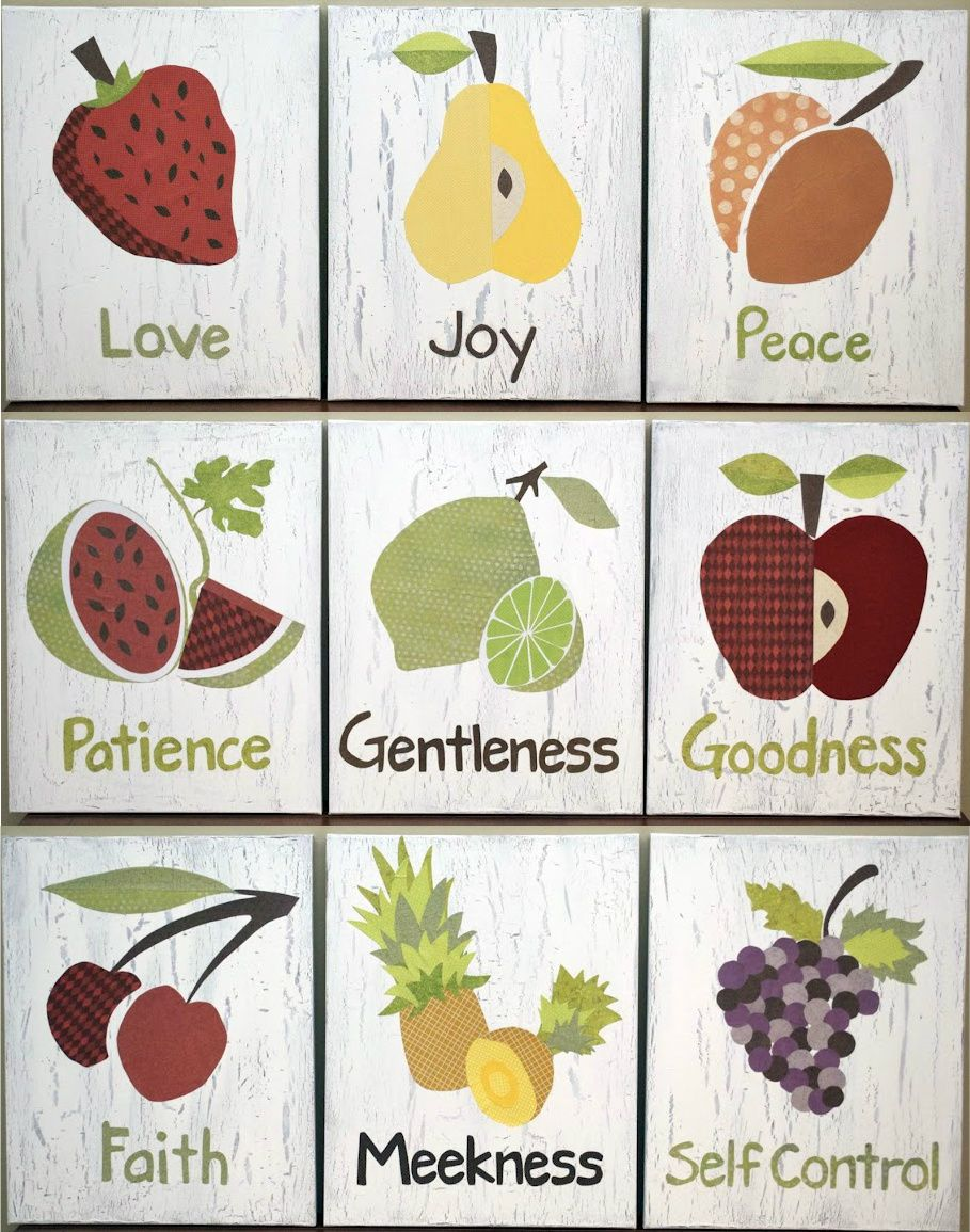 Low Country Living Fruit Of The Spirit Art Fruit Of The Spirit Spirited Art Christian Crafts