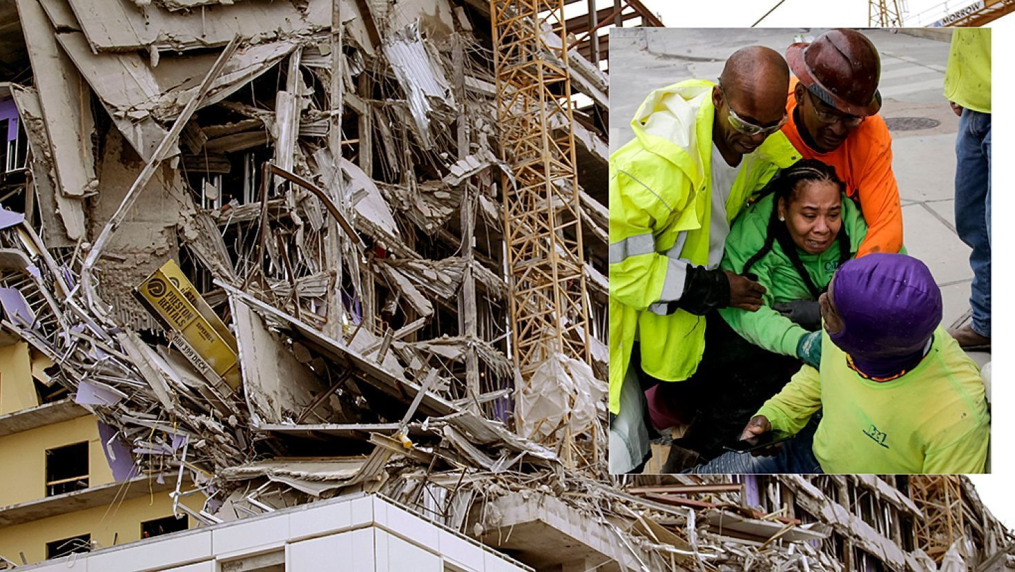 New Orleans Hard Rock Hotel Under Construction Collapses At Least