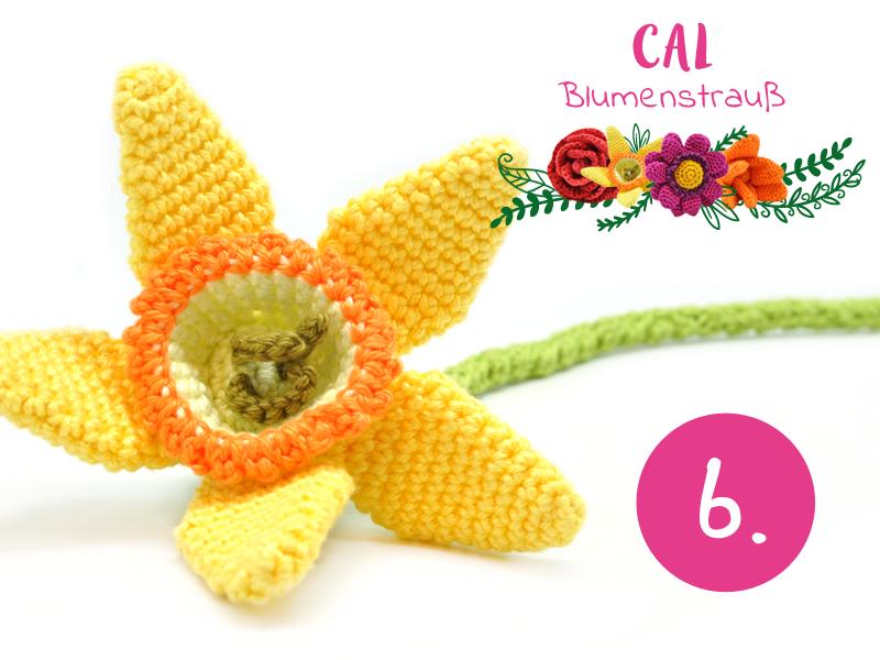 Blumenstrauß CAL: Häkeln Sie mit uns mit! | Häkeln | Pinterest ...
