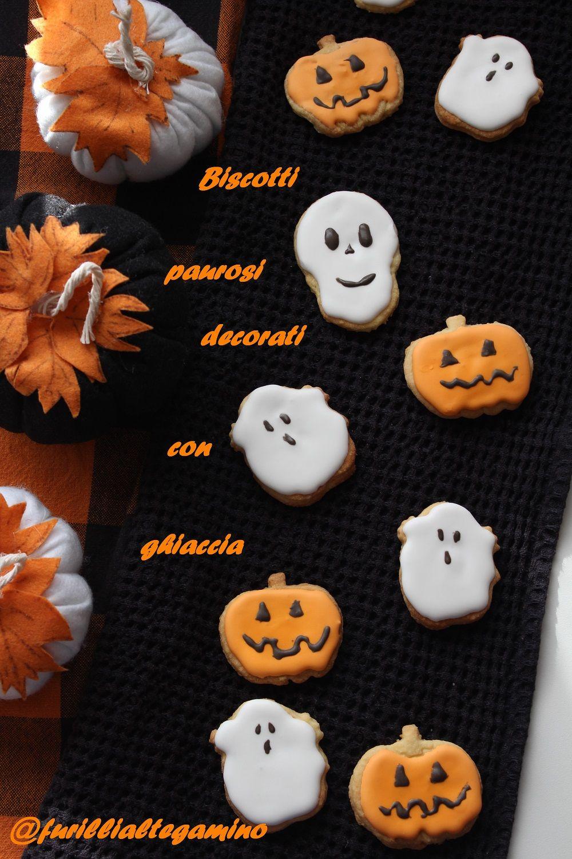Facili e divertenti Biscotti di halloween, Biscotti