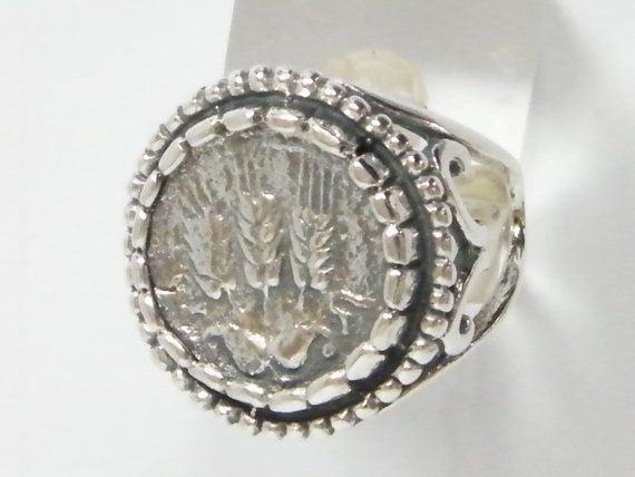 Brilliant Sterling Silver Stamp Ring With by SilverLinningsJewels, $40.00