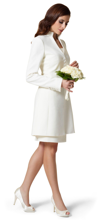 Gehrock Fur Den Festlichen Anlass Kleid Standesamt Braut Standesamtliche Trauung Kleid Kleid Standesamt